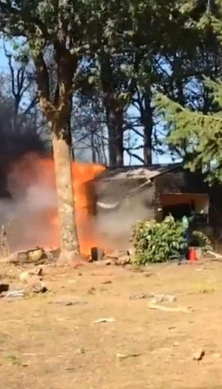 Бельгійський винищувач розбився на півдні Франції внаслідок відмови двигуна