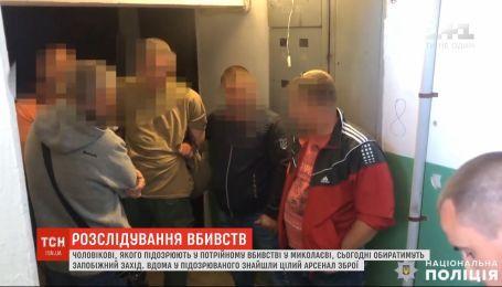Чоловікові, якого підозрюють у потрійному вбивстві у Миколаєві, оберуть запобіжний захід