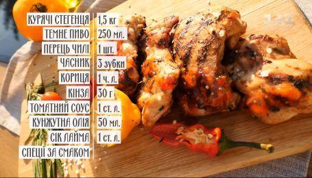 Курица-гриль в пивном соусе - рецепты Руслана Сеничкина