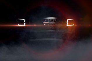 Nissan интригует тизером нового пикапа Titan
