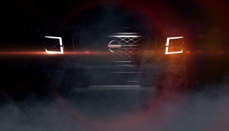 Nissan интригует тизером новго пикапа Titan
