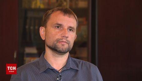 Ексклюзивне інтерв'ю Володимира В'ятровича