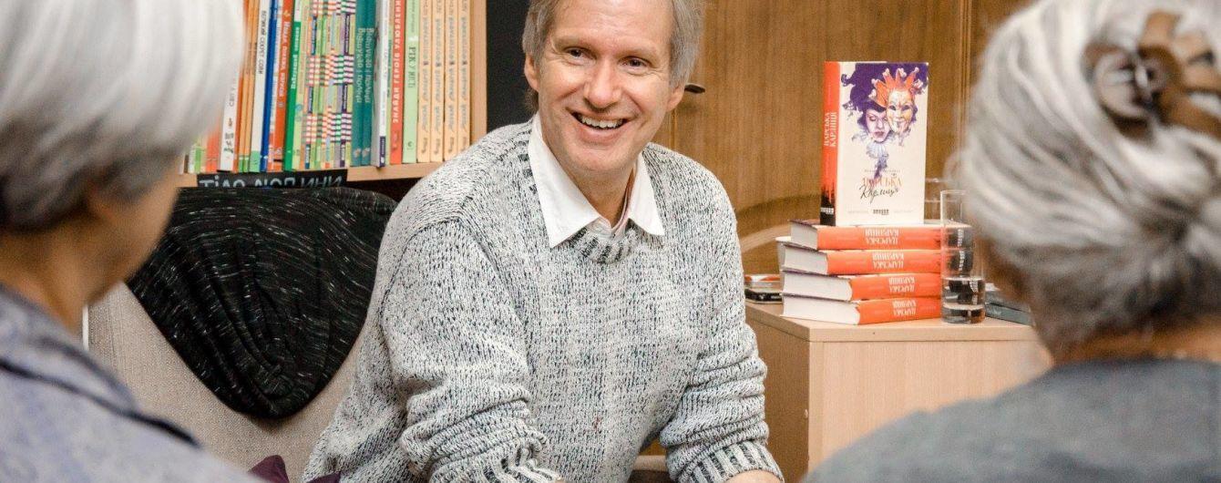 Известный датский писатель Питер Фогтдаль приглашает на творческую встречу в Киеве