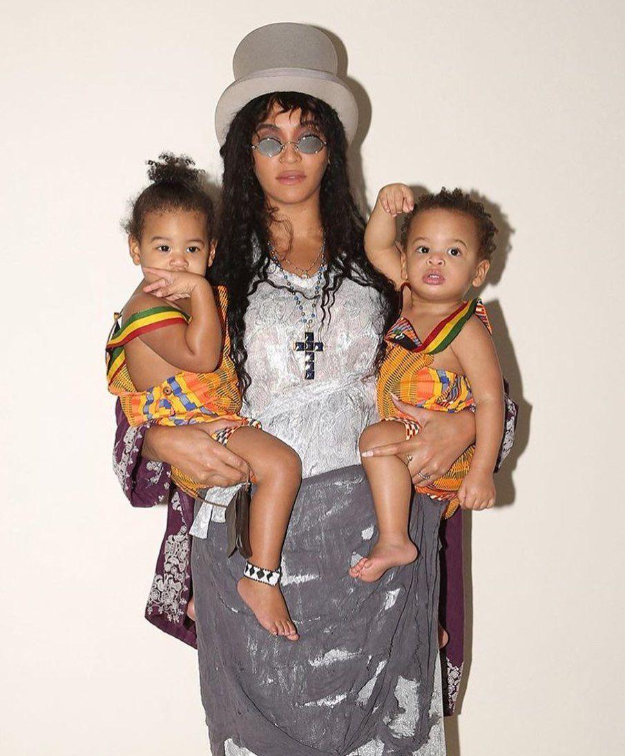 Бейонсе з дітьми