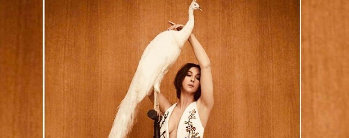 Показала грудь и ноги: роскошный образ Моники Беллуччи