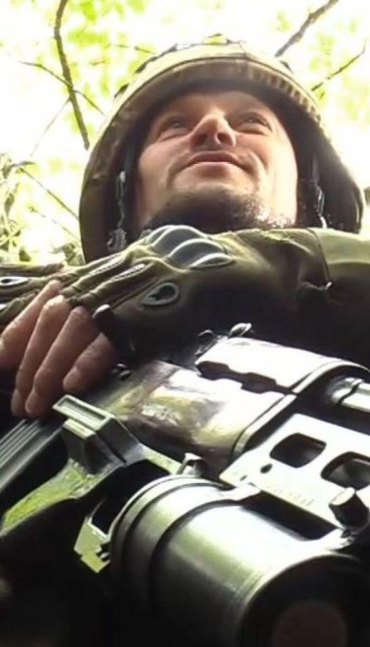 """Бійці батальйону """"Айдар"""" прокопали свої окопи до околиць окупованої Горлівки"""