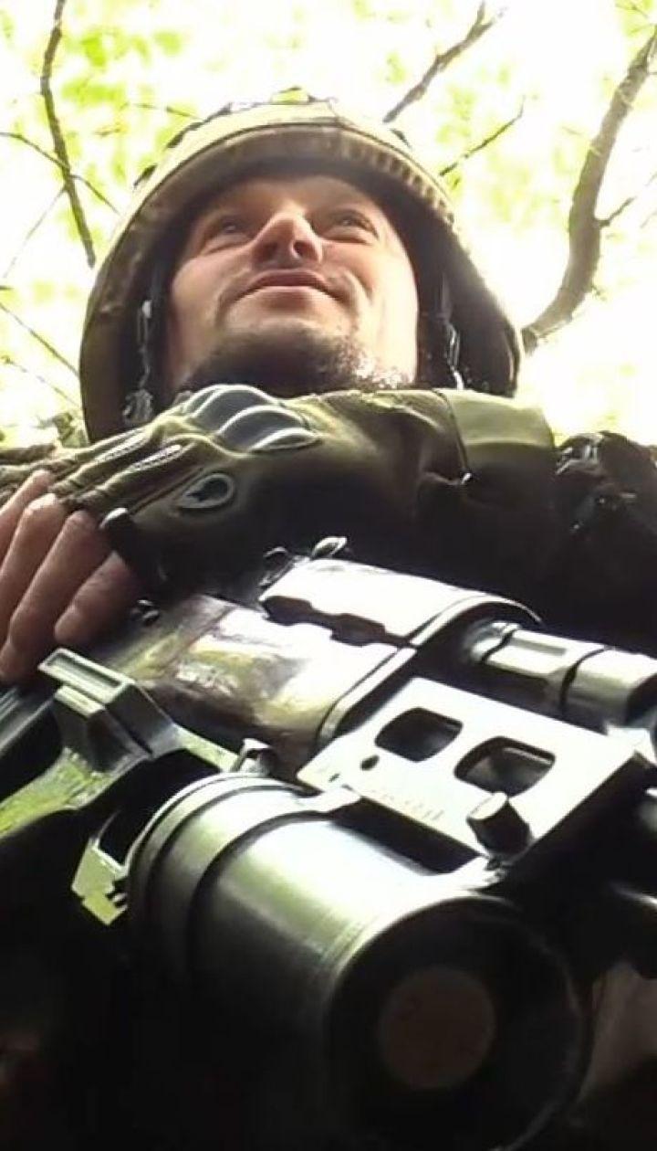 """Бойцы батальона """"Айдар"""" прорыли свои окопы к окраинам оккупированной Горловки"""