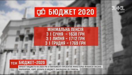 Міністерка фінансів Оксана Маркарова презентувала проект державного бюджету на наступний рік