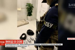 Ужгородский суд, несмотря на просьбу прокуратуры, отпускает подозреваемых в наркоторговле