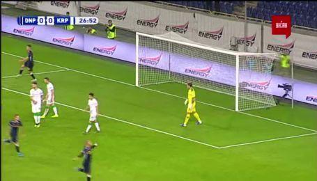 Дніпро-1 - Карпати 1:0. Відео голу Супряги