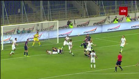 Дніпро-1 - Карпати 2:0. Відео голу Супряги