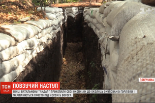 """Бойцы батальона """"Айдар"""" дошли до окраин Горловки: позиции перенесли на полтора километра"""