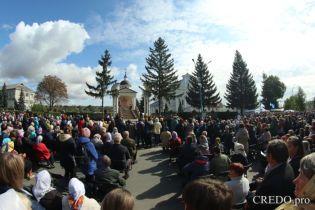 На Виннитчине более 3 тыс. католиков прошли крестным ходом за традиционные семейные уенности