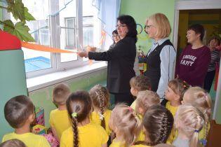 В детсаду в РФ помпезно открыли пластиковое окно
