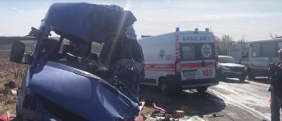 Трагічна ДТП маршрутки на Одещині. В поліції з'ясували, хто винен в аварії