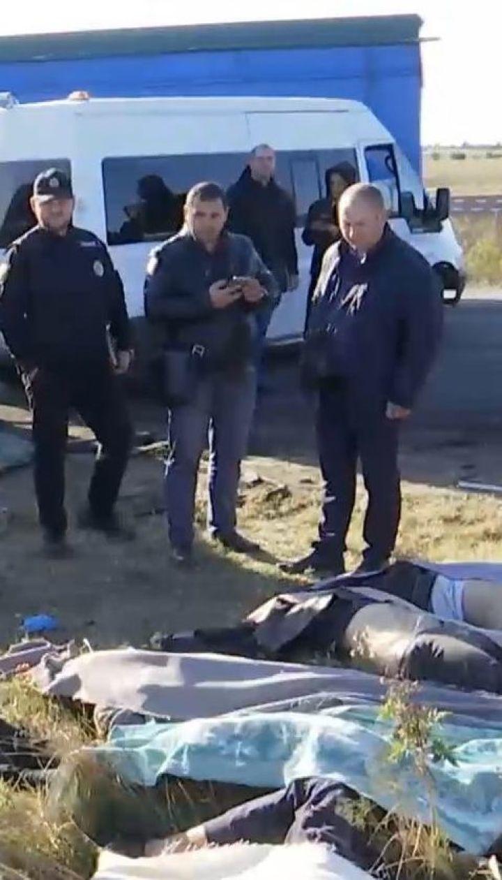 В Одесской области переполненная маршрутка врезалась в автоцистерну, погибли 9 человек