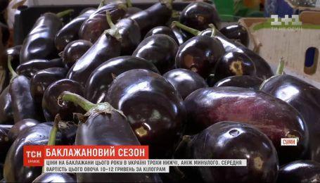 Скільки коштує баклажан у різних регіонах України