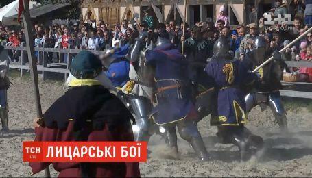 Під Києвом стартував чемпіонат України зі спортивного середньовічного бою