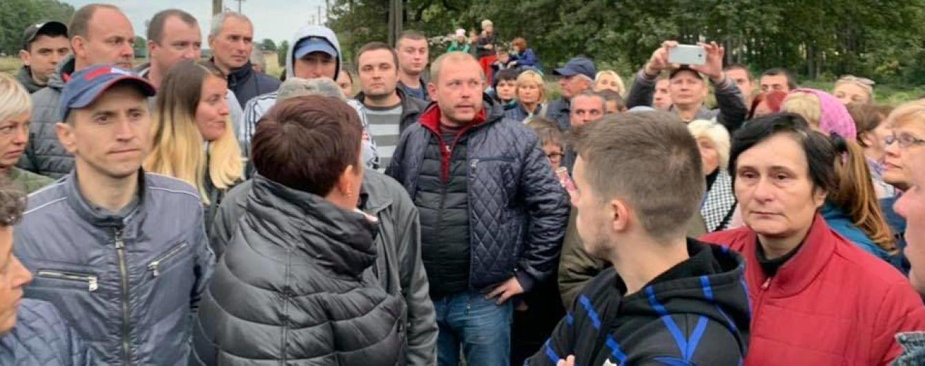 Блокада російського вугілля на Львівщині: поліція відпустила всіх затриманих