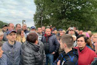 Блокада российского угля на Львовщине: полиция отпустила всех задержанных