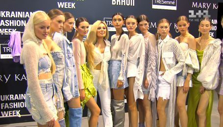 Модный показ на Ukrainian Fashion Week