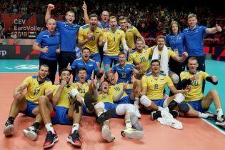 Сборная Украины совершила невероятный камбэк и впервые в истории вышла в четвертьфинал Чемпионата Европы по волейболу