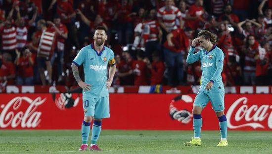"""""""Барселона"""" сенсаційно програла """"Гранаді"""", каталонці видали найгірший старт за останні 25 років"""