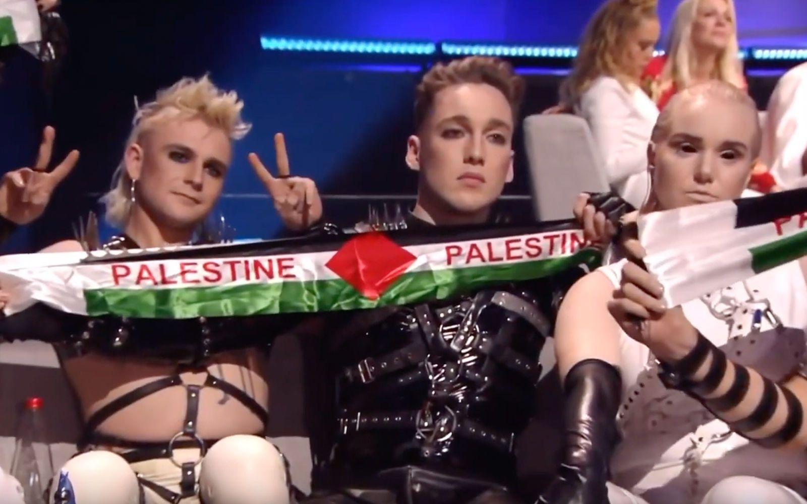 прапор Палестини на Євробаченні