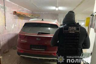В Одессе полиция задержала члена банды автоугонщиков. Видео