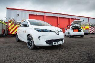 Пожарники Шотландии закупили серьезную партию электрокаров Renault