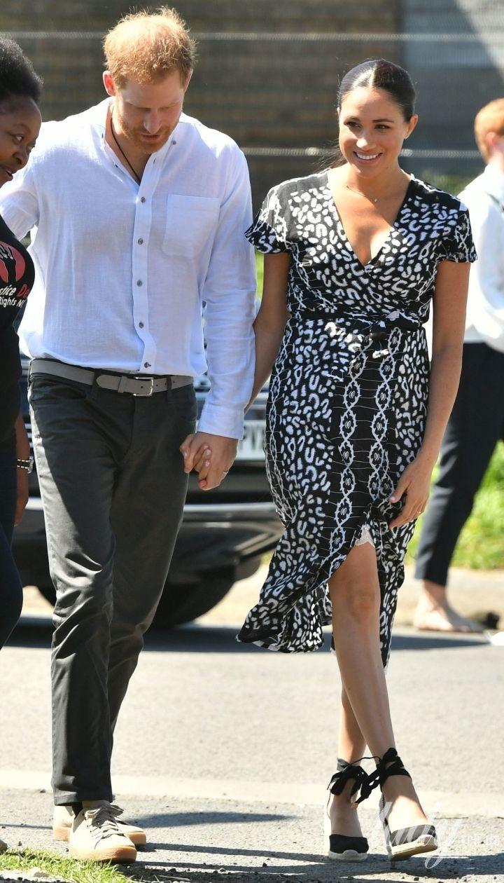 Герцогиня Меган і принц Гаррі