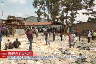 В Кении обрушилась школа: семеро студентов погибли, более полусотни пострадали