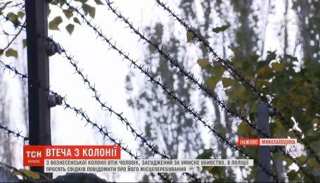 Полиция просит свидетелей сообщать о местонахождении заключенного, сбежавшего из Вознесенской колонии