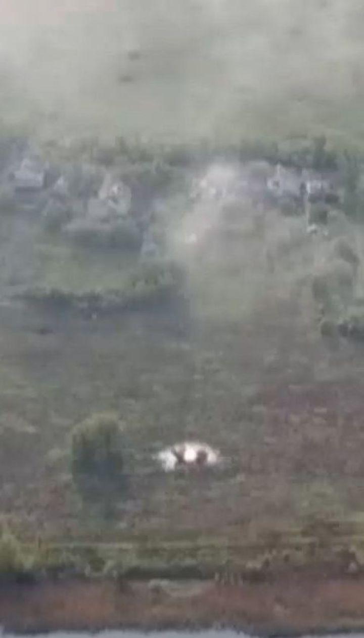 Окупанти тричі обстріляли ділянку, де планувалося розведення сил