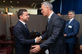 Зеленский провел первую встречу на полях Генассамблеи ООН