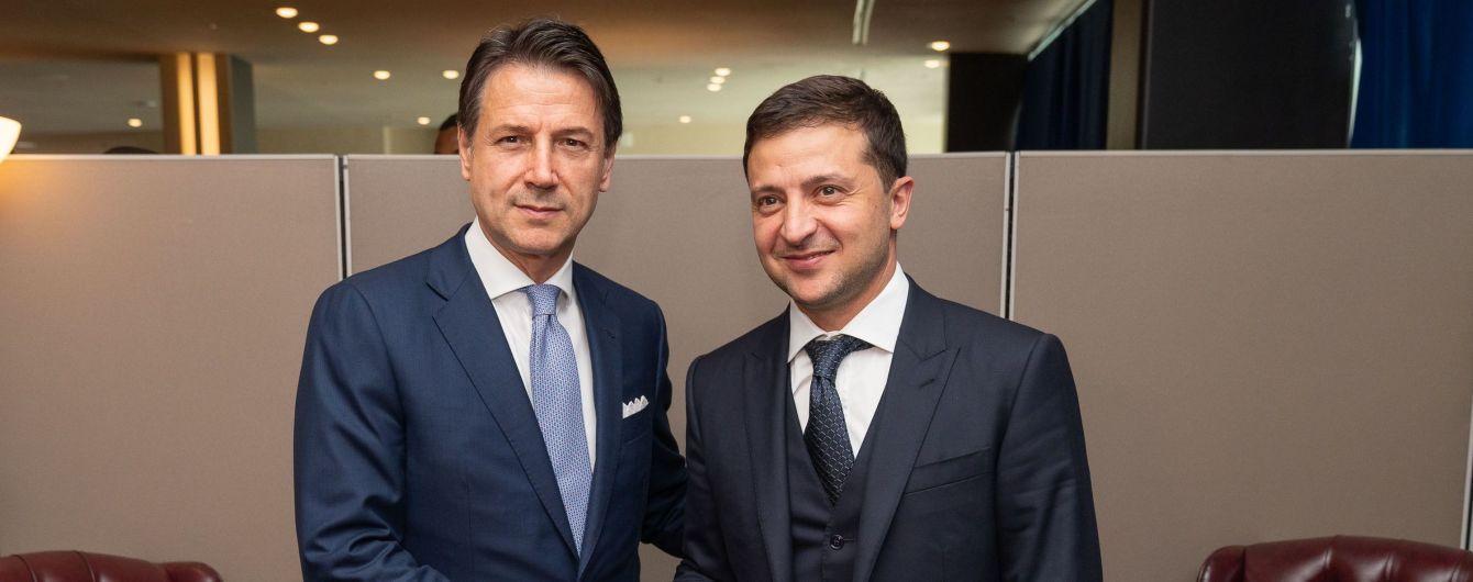 Зеленского в Риме торжественно встретил премьер-министр Италии