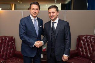 Зеленский встретился с премьером Италии: говорили о Маркиве и санкциях против РФ