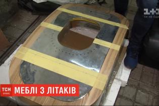 Самолеты на мебель. Киевлянин открыл необычную мебельную мастерскую
