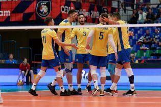 Сборная Украины в достойной борьбе уступила сербам в четвертьфинале Чемпионата Европы по волейболу