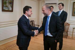 Зеленский обсудил с топ-менеджером Uber перспективы увеличения капиталовложений компании в Украине