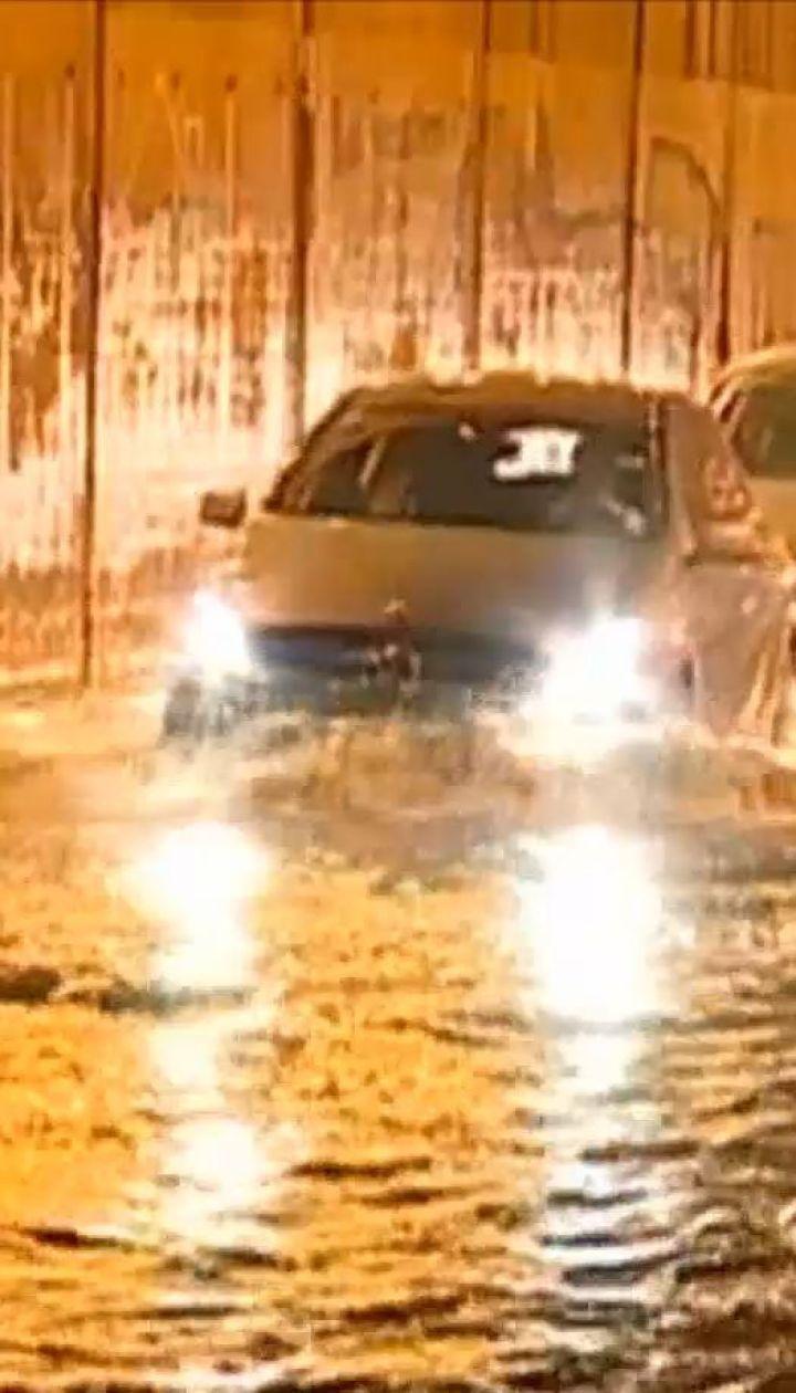 Проливные дожди и мощные наводнения: в Хорватии бушует непогода