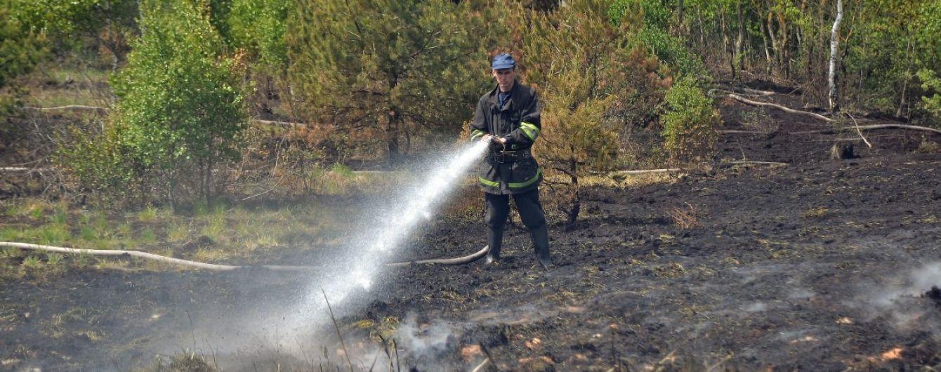 Під Києвом горять торфовища - в одному з районів столиці погіршився стан повітря