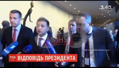Зеленський розповів російським пропагандистам, хто на нього може тиснути