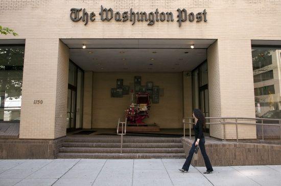 The Washington Post перейшла на коректне написання столиці України