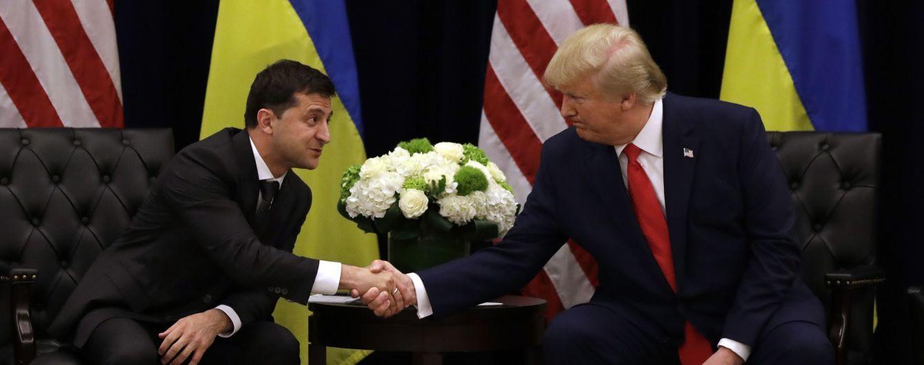 """Трамп подякував Зеленському та вважає """"Українагейт"""" вичерпаним"""