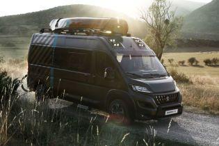 Peugeot создал дом на колесах на базе Boxer