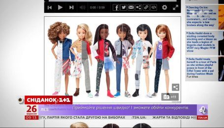 Компания Mattel выпустила серию гендерно-нейтральных кукол Барби