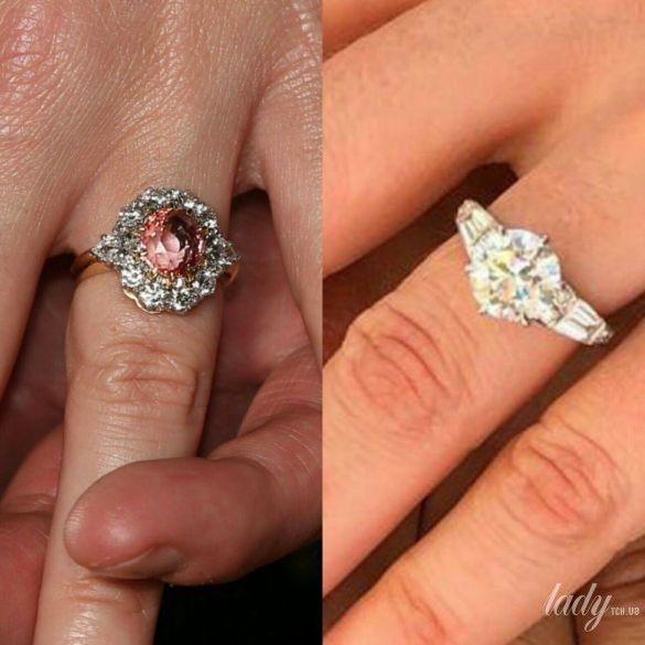 Помолвочные кольца принцесс