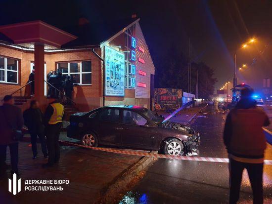 Суд узяв під варту поліцейського, який п'яним збив людей у Броварах
