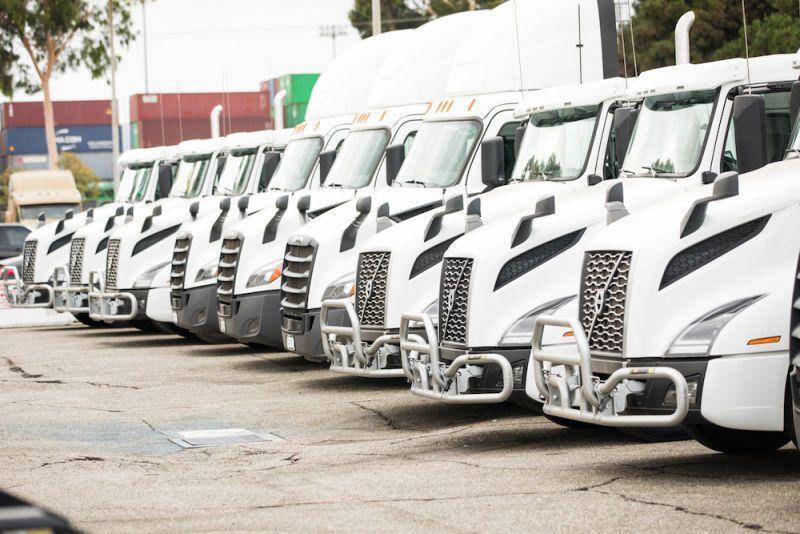 Вантажівки на газі
